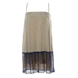 M Missoni Dress sz 40 Silver & Blue Lace NWT $1040